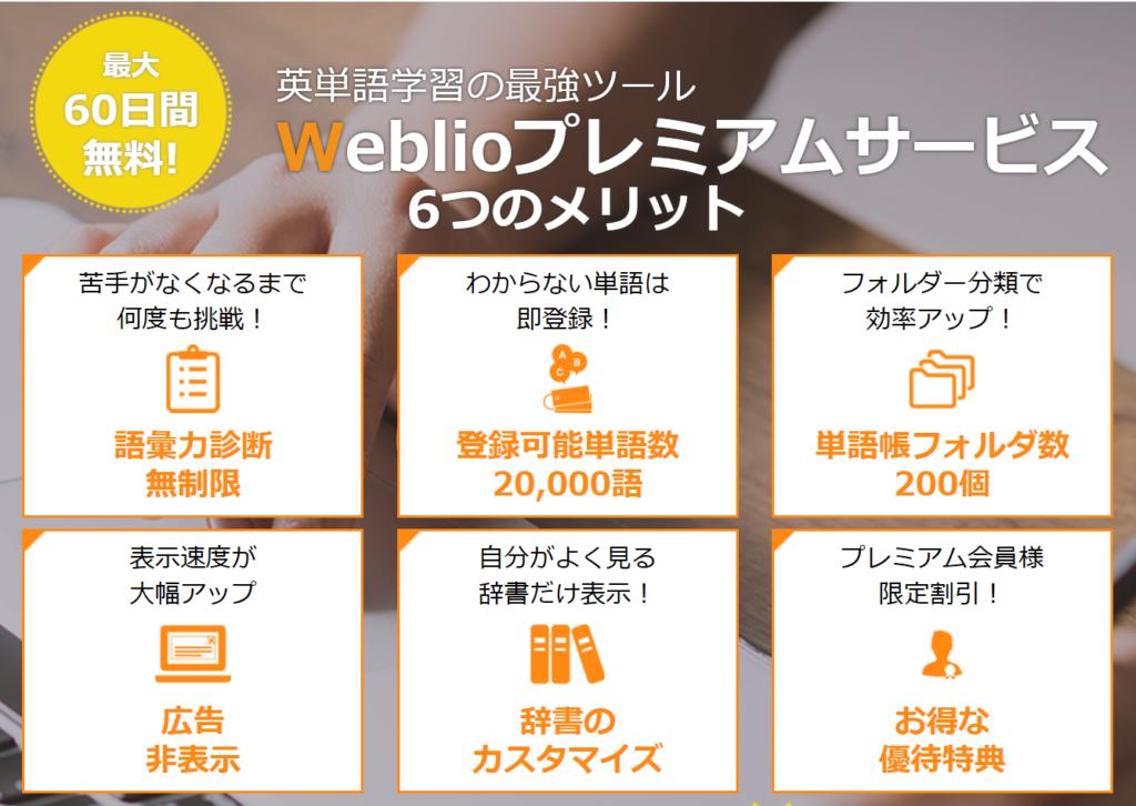 weblio premium